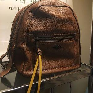 Brown Coach Andi mini backpack 🎒